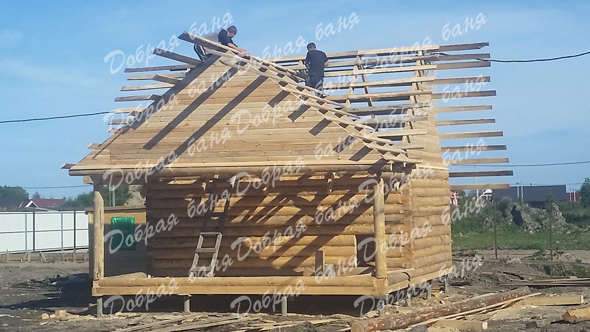 Как сделать крышу с тремя фронтонами 547